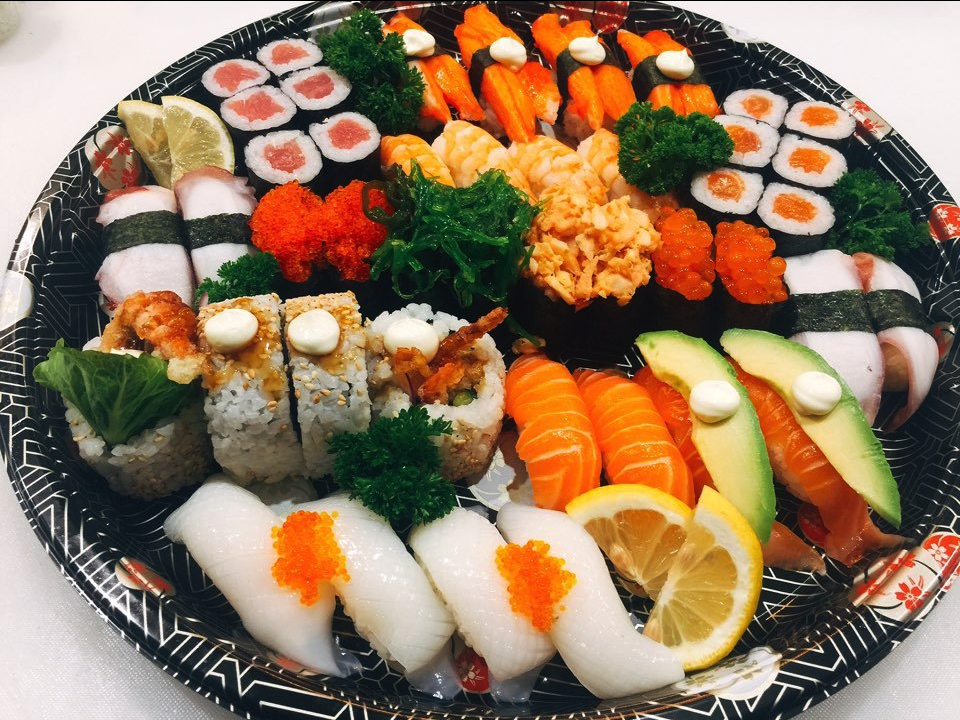 Sushi Platter - Family Feast  & Unexpected Guests