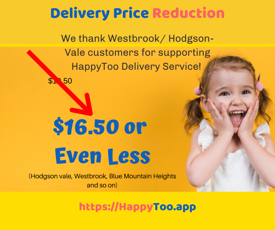 Westbrook Delivery Fee Reduction